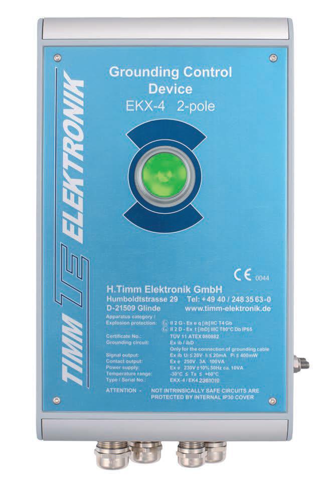 Timm's Grounding Control Device EKX-4 (2-Pole)