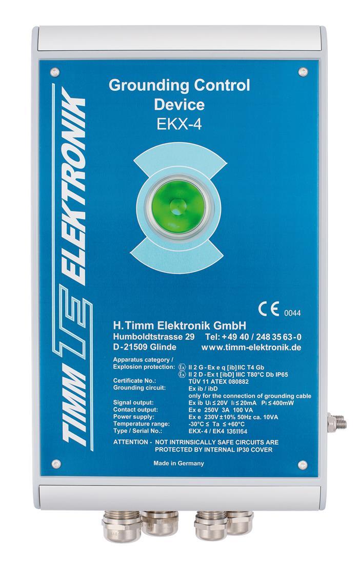 Timm's Grounding Control Device EKX-4