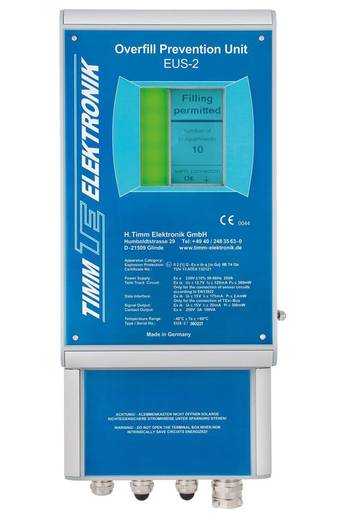 Timm'S Overfill Prevention Controller EUS-2
