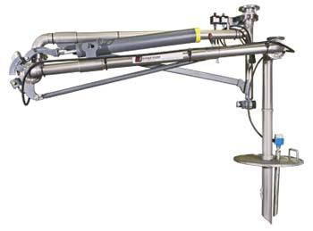 Emco Wheaton E2800 to E2803 E2808 to E2811 - Supported Boom Arms