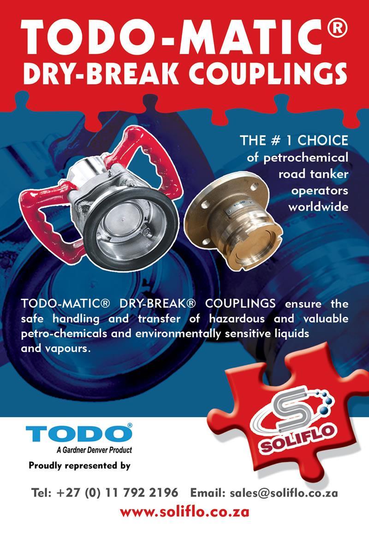 Archive Ad - TODO-Matic Dry-Break Couplings