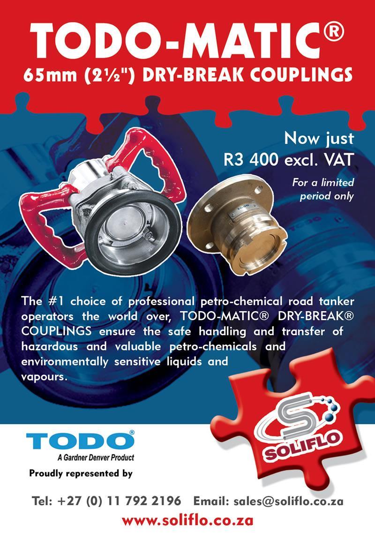 Archive Ad - TODO-Matic 65mm Dry-Break Couplings
