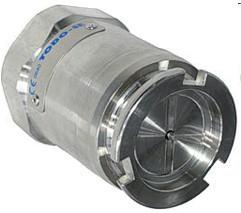 Pressure relief valve, for tank unit